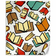 Friends Library Lobby Book Sale Canvas 16  X 20   by Mariart