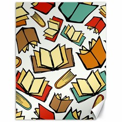 Friends Library Lobby Book Sale Canvas 18  X 24   by Mariart