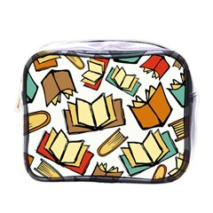Friends Library Lobby Book Sale Mini Toiletries Bags by Mariart
