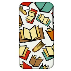 Friends Library Lobby Book Sale Apple Iphone 4/4s Hardshell Case (pc+silicone) by Mariart