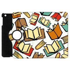 Friends Library Lobby Book Sale Apple Ipad Mini Flip 360 Case by Mariart