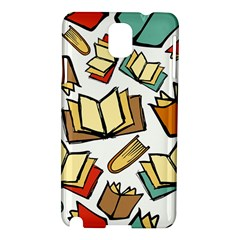 Friends Library Lobby Book Sale Samsung Galaxy Note 3 N9005 Hardshell Case by Mariart