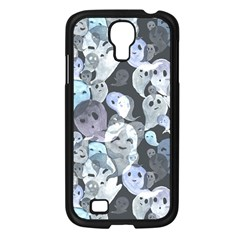 Ghosts Blue Sinister Helloween Face Mask Samsung Galaxy S4 I9500/ I9505 Case (black) by Mariart