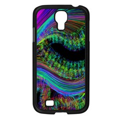 Aurora Wave Colorful Space Line Light Neon Visual Cortex Plate Samsung Galaxy S4 I9500/ I9505 Case (black) by Mariart