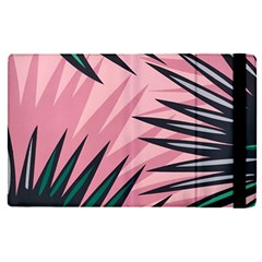 Graciela Detail Petticoat Palm Pink Green Apple Ipad Pro 9 7   Flip Case by Mariart