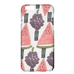 Grapes Watermelon Fruit Patterns Bouffants Broken Hearts Apple Iphone 6 Plus/6s Plus Hardshell Case by Mariart