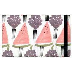 Grapes Watermelon Fruit Patterns Bouffants Broken Hearts Apple Ipad Pro 12 9   Flip Case by Mariart