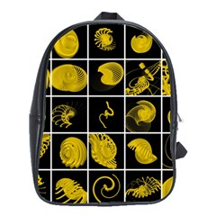 Grasshopper Rhino Spirograph Beautiful Fabulous School Bag (large)
