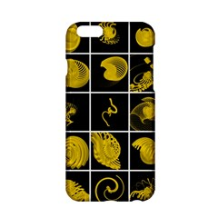 Grasshopper Rhino Spirograph Beautiful Fabulous Apple Iphone 6/6s Hardshell Case by Mariart