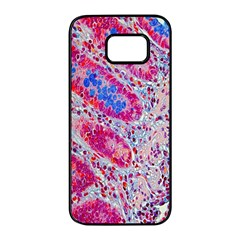 Histology Inc Histo Logistics Incorporated Alcian Blue Samsung Galaxy S7 Edge Black Seamless Case by Mariart