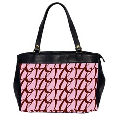 Letter Font Zapfino Appear Office Handbags (2 Sides)  by Mariart