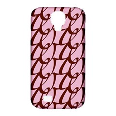 Letter Font Zapfino Appear Samsung Galaxy S4 Classic Hardshell Case (pc+silicone) by Mariart