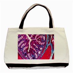 Histology Inc Histo Logistics Incorporated Masson s Trichrome Three Colour Staining Basic Tote Bag (two Sides) by Mariart