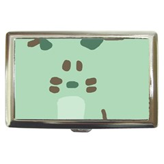 Lineless Background For Minty Wildlife Monster Cigarette Money Cases by Mariart