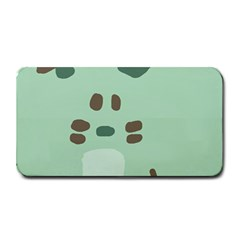 Lineless Background For Minty Wildlife Monster Medium Bar Mats by Mariart
