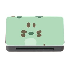 Lineless Background For Minty Wildlife Monster Memory Card Reader With Cf by Mariart