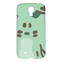 Lineless Background For Minty Wildlife Monster Samsung Galaxy S4 I9500/i9505 Hardshell Case by Mariart