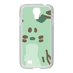 Lineless Background For Minty Wildlife Monster Samsung Galaxy S4 I9500/ I9505 Case (white) by Mariart