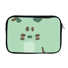 Lineless Background For Minty Wildlife Monster Apple Macbook Pro 17  Zipper Case