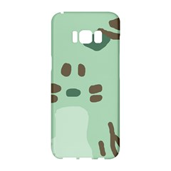 Lineless Background For Minty Wildlife Monster Samsung Galaxy S8 Hardshell Case  by Mariart