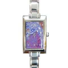 Histology Inc Histo Logistics Incorporated Human Liver Rhodanine Stain Copper Rectangle Italian Charm Watch by Mariart