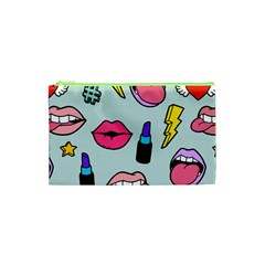 Lipstick Lips Heart Valentine Star Lightning Beauty Sexy Cosmetic Bag (xs) by Mariart