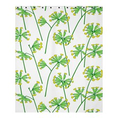 Marimekko Fabric Flower Floral Leaf Shower Curtain 60  X 72  (medium)  by Mariart