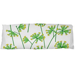 Marimekko Fabric Flower Floral Leaf Body Pillow Case Dakimakura (two Sides) by Mariart