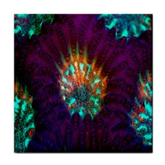 Live Green Brain Goniastrea Underwater Corals Consist Small Tile Coasters by Mariart
