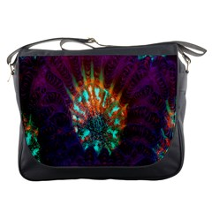 Live Green Brain Goniastrea Underwater Corals Consist Small Messenger Bags by Mariart