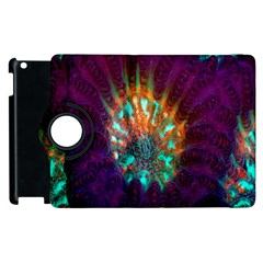 Live Green Brain Goniastrea Underwater Corals Consist Small Apple Ipad 3/4 Flip 360 Case by Mariart