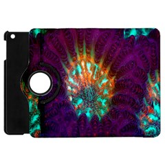 Live Green Brain Goniastrea Underwater Corals Consist Small Apple Ipad Mini Flip 360 Case by Mariart