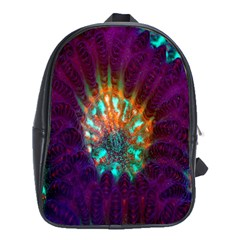 Live Green Brain Goniastrea Underwater Corals Consist Small School Bag (xl) by Mariart