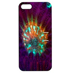 Live Green Brain Goniastrea Underwater Corals Consist Small Apple Iphone 5 Hardshell Case With Stand by Mariart