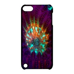 Live Green Brain Goniastrea Underwater Corals Consist Small Apple Ipod Touch 5 Hardshell Case With Stand by Mariart