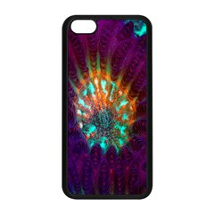 Live Green Brain Goniastrea Underwater Corals Consist Small Apple Iphone 5c Seamless Case (black)