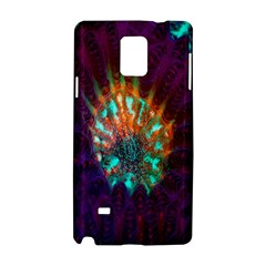 Live Green Brain Goniastrea Underwater Corals Consist Small Samsung Galaxy Note 4 Hardshell Case by Mariart