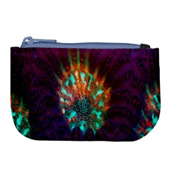 Live Green Brain Goniastrea Underwater Corals Consist Small Large Coin Purse by Mariart
