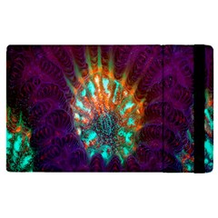 Live Green Brain Goniastrea Underwater Corals Consist Small Apple Ipad Pro 12 9   Flip Case by Mariart