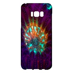 Live Green Brain Goniastrea Underwater Corals Consist Small Samsung Galaxy S8 Plus Hardshell Case  by Mariart