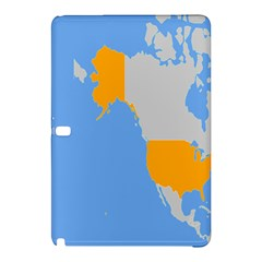 Map Transform World Samsung Galaxy Tab Pro 12 2 Hardshell Case by Mariart