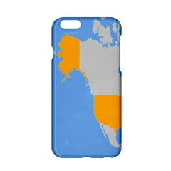 Map Transform World Apple Iphone 6/6s Hardshell Case by Mariart