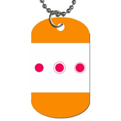 Patterns Types Drag Swipe Fling Activities Gestures Dog Tag (one Side) by Mariart