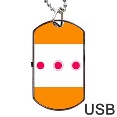 Patterns Types Drag Swipe Fling Activities Gestures Dog Tag Usb Flash (two Sides) by Mariart
