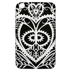 Paper Cut Butterflies Black White Samsung Galaxy Tab 3 (8 ) T3100 Hardshell Case  by Mariart