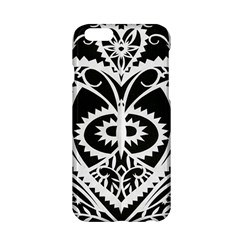 Paper Cut Butterflies Black White Apple Iphone 6/6s Hardshell Case