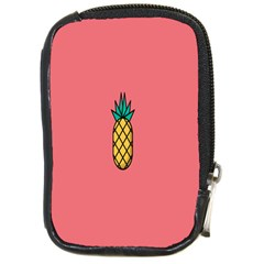 Pineapple Fruite Minimal Wallpaper Compact Camera Cases by Mariart