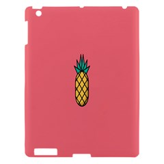 Pineapple Fruite Minimal Wallpaper Apple Ipad 3/4 Hardshell Case by Mariart