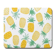 Pineapple Fruite Seamless Pattern Large Mousepads by Mariart