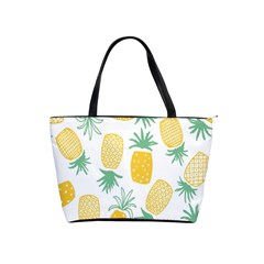 Pineapple Fruite Seamless Pattern Shoulder Handbags by Mariart